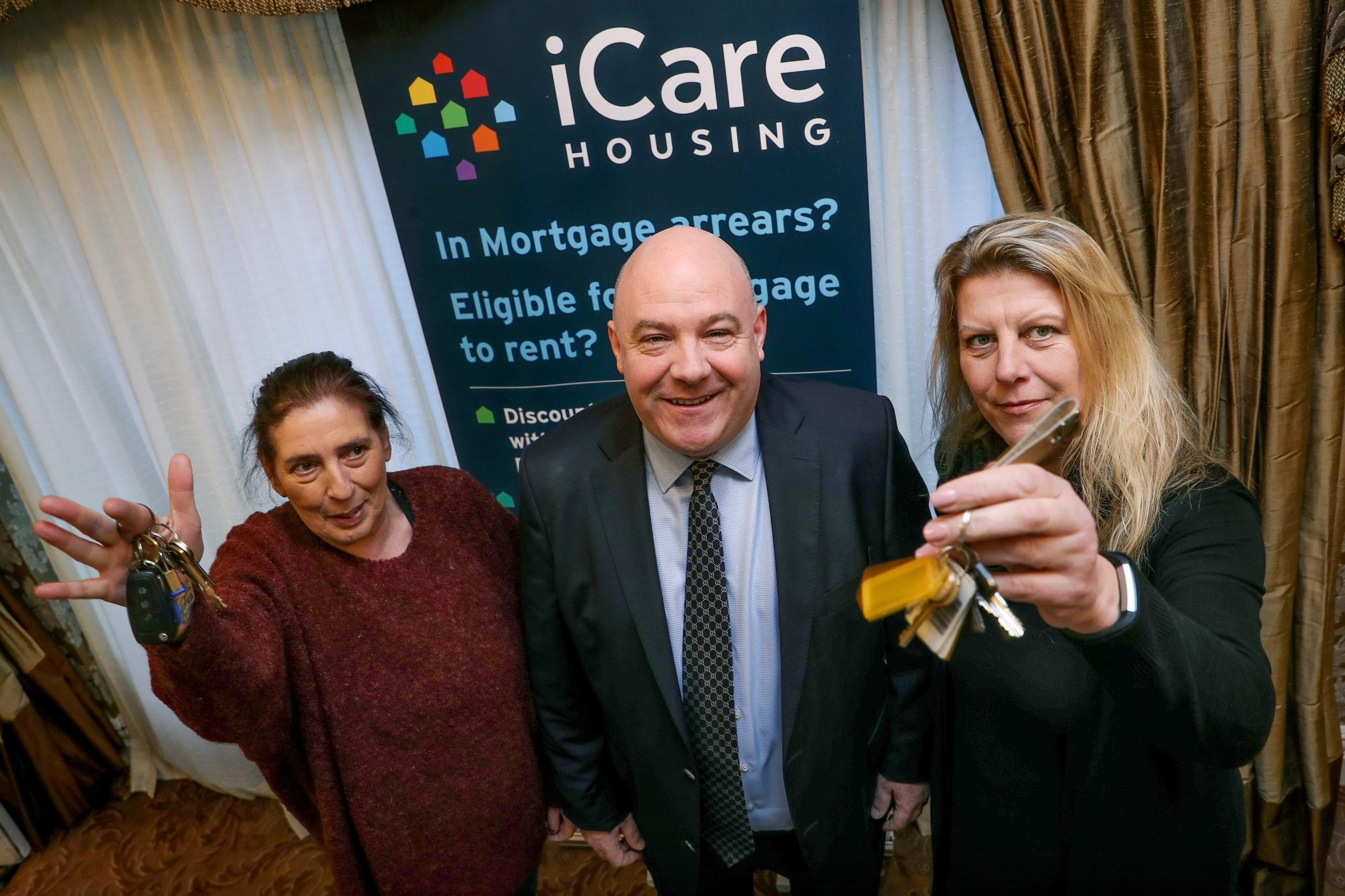 The Journal.ie: 'I can sleep at night now': iCare buys 19 homes to save families from eviction